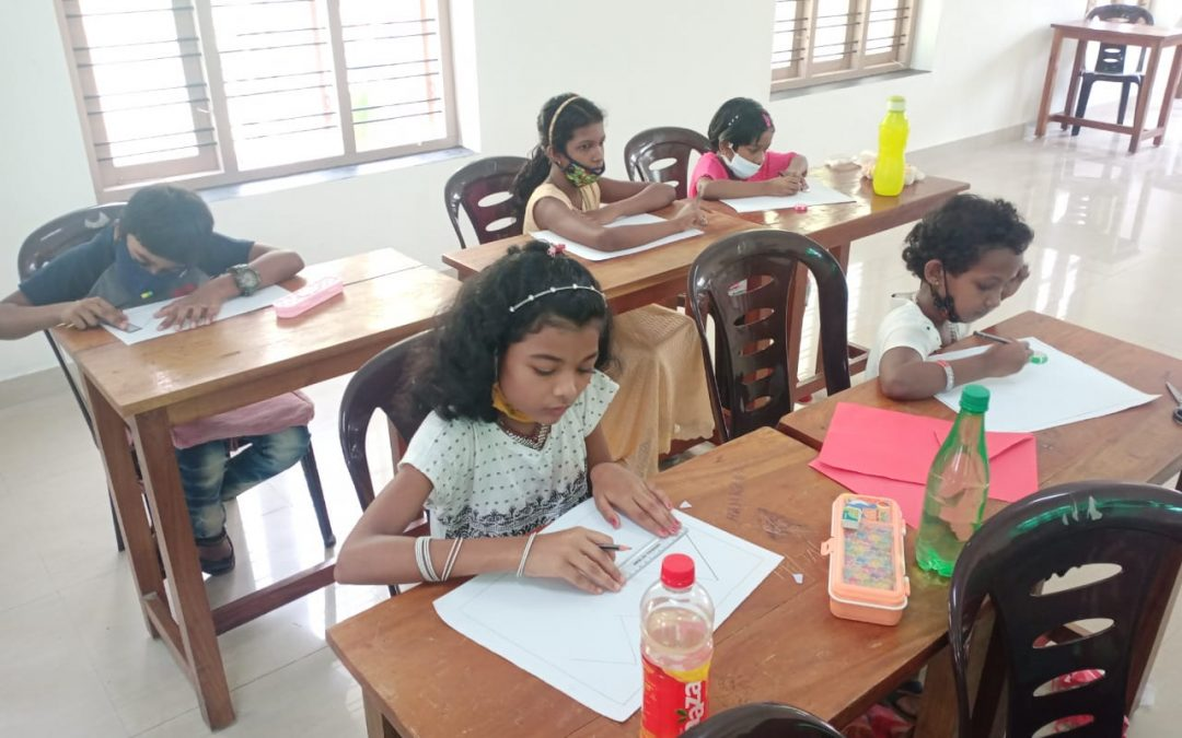 Community school for children during this pandemic period